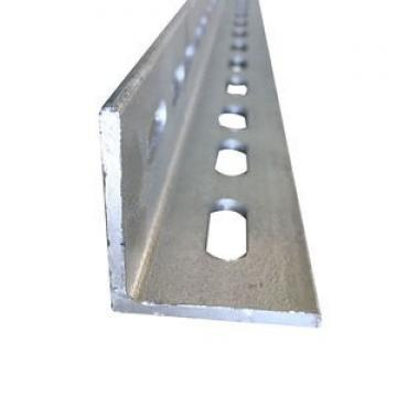 Black Galvanized Steel Angle Bar Ms Metal Equal /Unequal