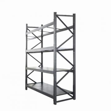 Commercial Perforated Back Panel Display Shelf with Basket